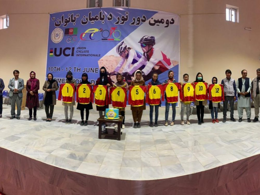 Afghan Cycling Athletes