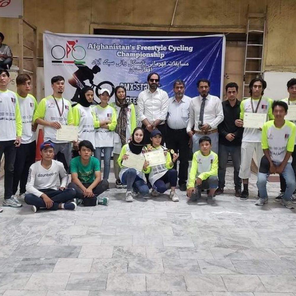 Afghan BMX Team